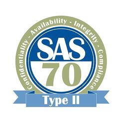 SAS 70 Type II logo